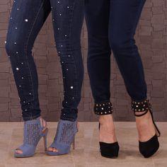Latest tricks with diy fashion clothing Diy Jeans, Diy Clothes Jeans, Jeans Refashion, Clothes Crafts, Fashion Pants, Diy Fashion, Fashion Outfits, Womens Fashion, Fashion Ideas
