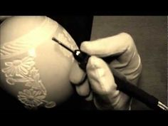 Engraved ostrich eggs Ролик №1 - YouTube