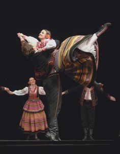 Folk costumes from Lublin, Poland.