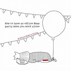 The #WAHM Christmas party?! What do you think mums? Pretty true I'd say  Image credit @rosiemadeathing #wfhm #workfromhome #workingfromhome