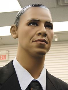$180- Pres Obama look-alilke - a mannequin available for photo needs and special events~ ♛