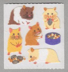 SANDYLION STICKER section 80er 90er Fuzzy Panda Ours Autocollant Sticker Album