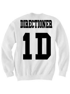 ONE DIRECTION SWEATSHIRT DIRECTIONER JERSEY