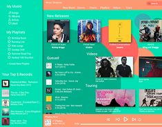 """Check out new work on my @Behance portfolio: """"Music Streaming Page"""" http://be.net/gallery/64758425/Music-Streaming-Page"""