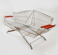 #installation shopping cart bench