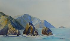 Paintings - prices include courier with in New Zealand, please contact me for overseas postage options. New Zealand Landscape, Artist Painting, Mount Rushmore, Paintings, Watercolor, Mountains, Studio, Travel, Pen And Wash