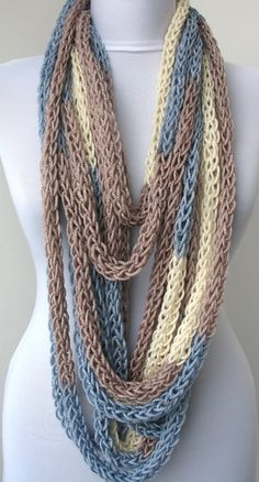 Bufanda collar lazo bufanda infinity bufanda-cuello por DreamList