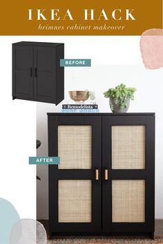 Ikea Hack Bedroom, Bedroom Furniture Makeover, Diy Furniture, Bedroom Ideas, Home Decor Kitchen, Diy Home Decor, Ikea Bookshelf Hack, Best Ikea, Ikea Home