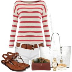 """Casual - Summer/Spring"" by celinecucci on Polyvore"