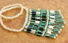 Art Deco Tila Bead Necklace Pattern: Gather Your Materials