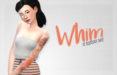 Sims 4 CC's - The Best: Tattoos by Siampop