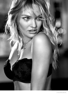 Candice Swanepoel Seduces in New Victoria's Secret Images