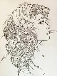 i will eventually have this a gypsy tattoo on my right thigh. end of story.
