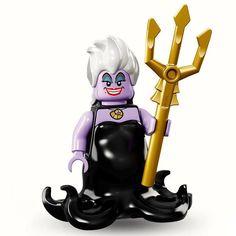 LEGO Disney Ursula Minifigure