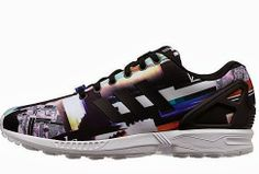 "THE SNEAKER ADDICT: adidas Originals ZX Flux ""Photo Print"" Sneaker Pac..."
