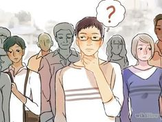 How to Stop Being Paranoid -- via wikiHow.com Body Language, Reading, Anime, Confusion, Image, People, Word Reading, The Reader, Anime Shows