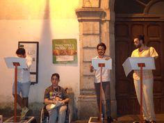 Lettura pubblica di Poesie al Salerno Letteratura Festival 2014