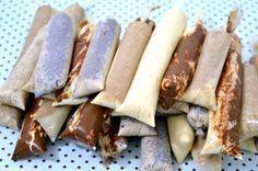 7 receitas de sacolé (dindin) gourmet