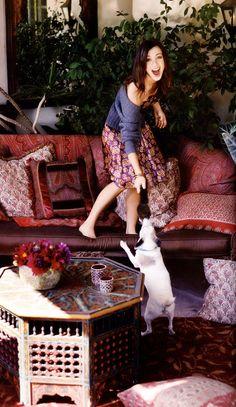 Alyson Hannigan aka Willow Rosenberg and Lily Aldrin