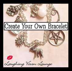 Supernatural Jewelry - Create Your Own Supernatural Bracelet - Simple Charm Bracelet - Choose From Over 100 Charms