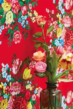 New vintage floral wallpaper bedroom pip studio Ideas Wallpaper Please, Red Wallpaper, Golden Wallpaper, Sparkle Wallpaper, Rainbow Wallpaper, Wallpaper Online, Wallpaper Desktop, Disney Wallpaper, Wallpaper Quotes