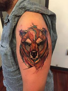 Skin Deep Tales #tattoo #bear