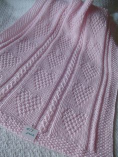 Babydecke *, rosa Baby Krippe Decke, rosa Baby afghanischen, Hand stricken Baby … – Well come To My Web Site come Here Brom Handmade Baby Blankets, Knitted Baby Blankets, Baby Girl Blankets, Free Baby Blanket Patterns, Baby Knitting Patterns, Hand Knitting, Pink Baby Blanket, Crib Blanket, Handgemachtes Baby