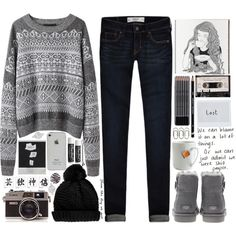 """""""Waiting For the Winter"""" by cejaysareia on Polyvore"""