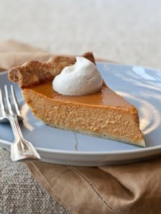 Barefoot Contessa - Recipes - Ultimate Pumpkin Pie with Rum Whipped Cream