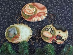 Christmas on the Farm Ornaments Kit – Cupboard Distributing