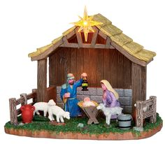 Lemax Village Collection Nativity Scene Battery Operated # Lemax Nativity Scene Battery Operated Item # 34626 Features Include: Battery-operated Three AA size batteries required Batteries not included A/C adaptable, by using Lemax Power Adap Lemax Christmas Village, Pre Lit Christmas Tree, Lemax Village, Christmas Nativity Scene, Christmas Store, Christmas Villages, Family Christmas, Merry Christmas, Christmas Village Accessories