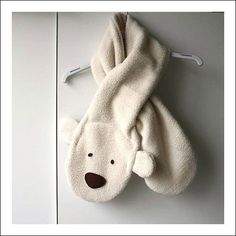 Polar Bear Kids Scarf