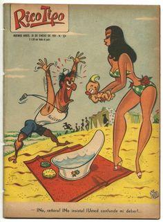 Revista Rico Tipo N° 524 Chicas De Divito Humor 1955 - $ 50,00 en MercadoLibre Archie Comics, Fun Comics, Cartoon Sketches, Cartoon Art, Vintage Illustration Art, Art Illustrations, Funny Cartoon Pictures, Funny Postcards, Man Cave Art