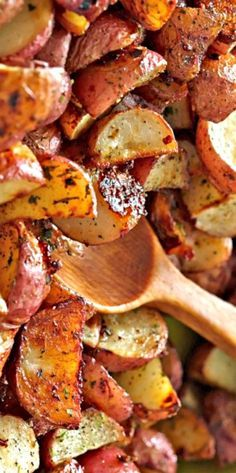 Original Hidden Valley Ranch Roasted Potatoes Recipe. They were good. I used half the oil and half the ranch called for but they weren't seasoned as well as I expected so next time I would follow the recipe exactly. --MSoto
