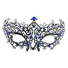 [Catwoman costumes] Mai Yi Venetian Style Metal Rhinestone Mask Lady Cat woman Halloween Masquerade * Check out the image by visiting the link. (This is an affiliate link) #Catwomancostumes