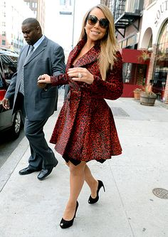 Diva but red animal print's not my fave