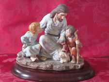 Home Interior Masterpiece Religious Christ with Children 1983 Snow Globes, Parties, Christian, Messages, Interiors, Children, Pictures, Vintage, Inspiration