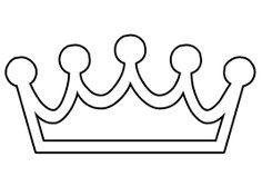 Resultado de imagen para moldes de coronas de cumpleaños