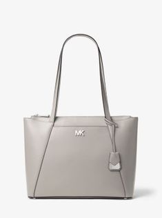f26cbbda1e46 Maddie Medium Crossgrain Leather Tote Bag