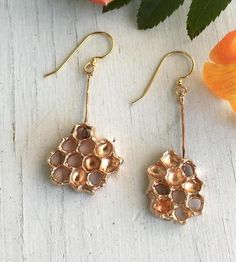 Honeycomb Earrings by Chase and Scout on Scoutmob Shoppe