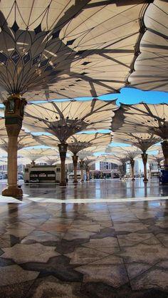 Saudi Arabia, Asian, Geography, Umbrellas, Luxury, Square, City