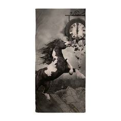 Gatterwe: Fleeing From The Apocalypse Beach Towel: A wild horse running away from the Apocalypse! The ground rises and cities are falling apart. Galaxy 8, Samsung Galaxy, Wild Horses Running, Ipod Cases, Falling Apart, Beach Towel, Apocalypse, Cities, S4 Case