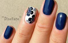 Uñas azul