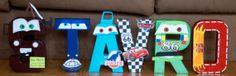Disney Letters CARS