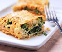 Broccoli Lasagna - I have made this for many a gathering, big hit, especially for any non-meat eaters.