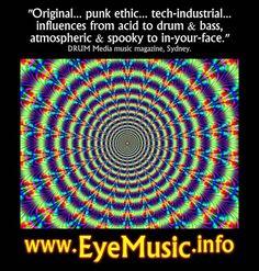 EYE Heavy Dark New Electro Industrial Synth Punk Wave Acid Witch House Alternative Electronic Body Dance Techno Pop Drum Bass Music IDM EDM EBM Aussie Bands Australia Melbourne Sydney Brisbane Perth Adelaide Canberra Sunhine Coast Wollongong Geelong Gold Coast