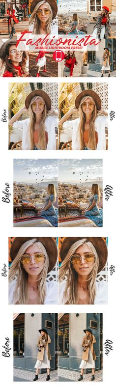 4 Lightroom Presets - FASHIONISTA (DESKTOP & MOBILE) - Mobile & Desktop FASHIONISTA Blogger Lightroom Presets is a 4 Presets Collection for bloggers and influencers These presets will make your Instagram feed look consistent and keep all your images in one style! Bring your feed to the next level! - ◼Mobile Preset is perfect for your Adobe Lightroom CC Mobile App and works well with your photos shot with your iPhone or Android device. ◼Fun fact:... Mobile Mobile, Mac Pc, How To Better Yourself, Lightroom Presets, Your Image, Instagram Feed, Fun Facts, Adobe, Desktop