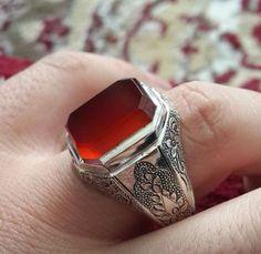Afghanistan Silber Ring
