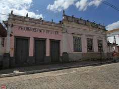 Pharmacia Popular, opened in 1830 and closed in 2011 City of Bananal, Brazil