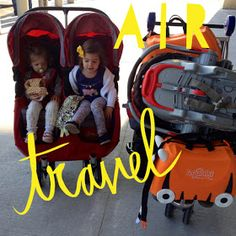 the chirping moms: Where to Wednesday: Air Travel With Kids